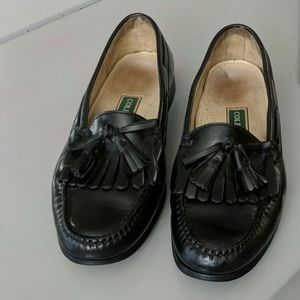 COLE HAAN Leather SHOES Tassels Slip On